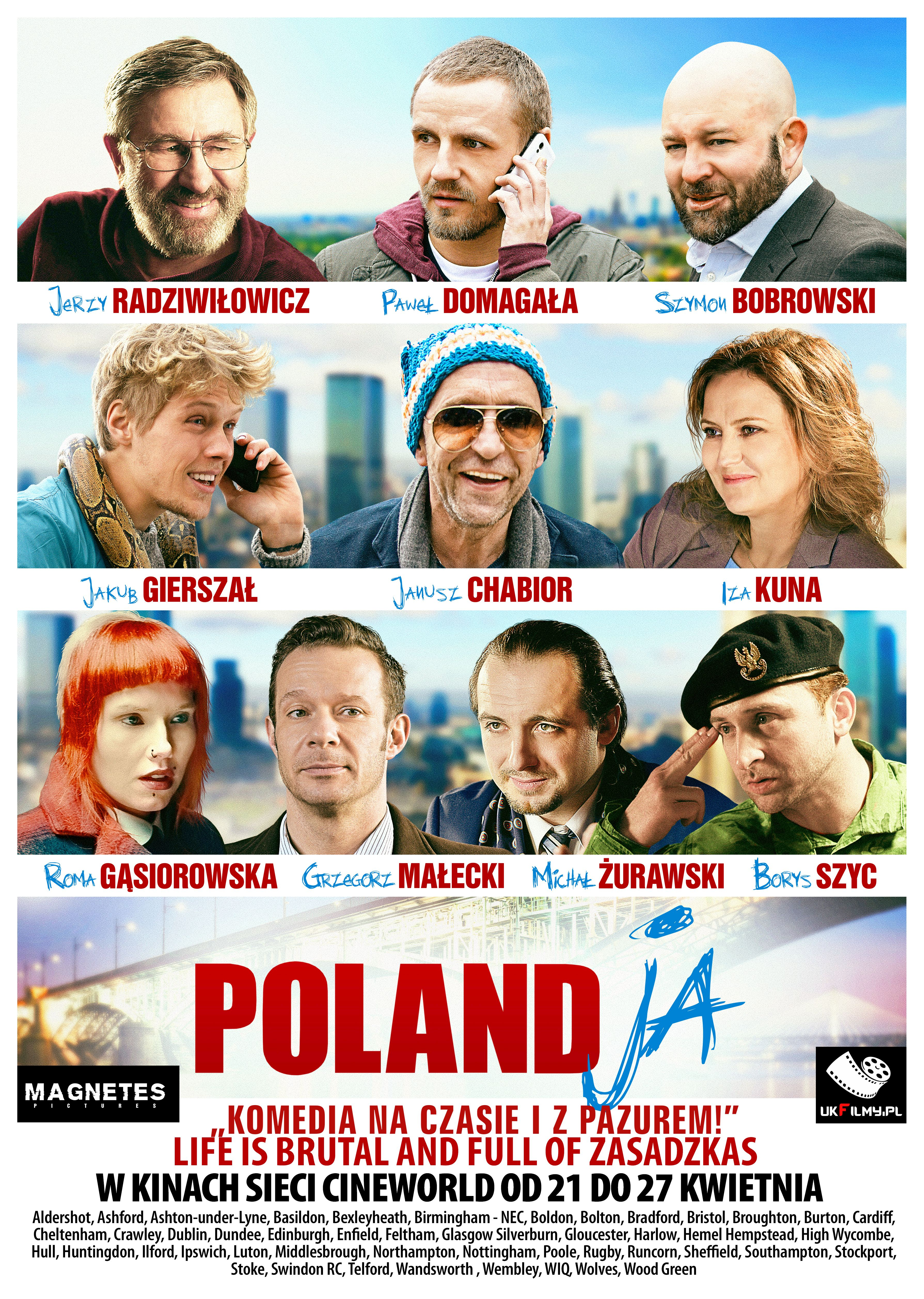 polandja uk plakat